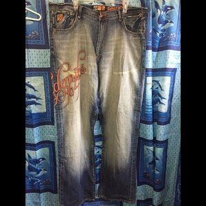 🔥 5/$25 Akademiks Jeans Sz 42